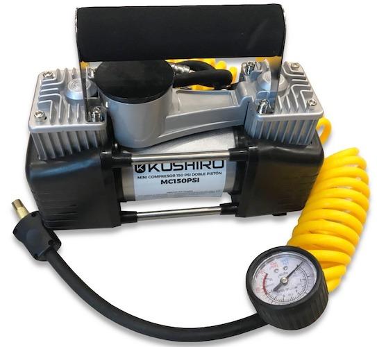 Compresor 150 psi doble piston MC150PSI Kushiro