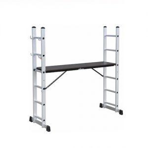Escalera andamio aluminio con ruedas EAAR Kushiro