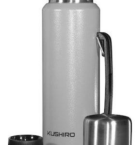 Termo acero inoxidable 1lt c/manija DS607V Kushiro