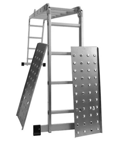 Escalera articulada 4x4 c/plataf. AMO116D Kushiro