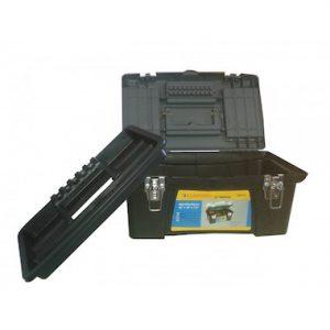 "Caja herramientas plastica cierre metal 16"" U20077"