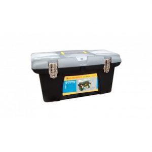 "Caja herramientas plastica cierre metal 19"" U20066"