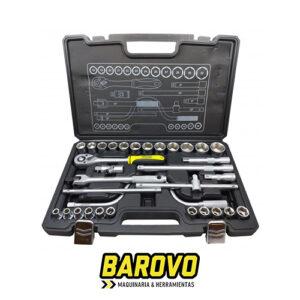 Caja herramientas tubos 32 piezas JU3212 Udovo