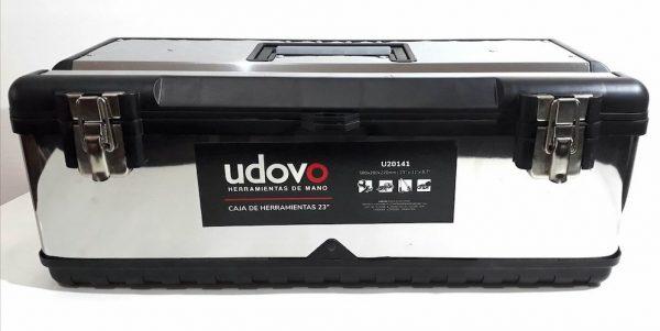 "Caja herram acero inox cierre met 23"" U20141 Udovo"