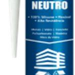 Silicona neutra blanco 280gr Poliplas 1