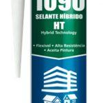 Sellador hibrido 1090 HT negro 400gr Poliplas 1