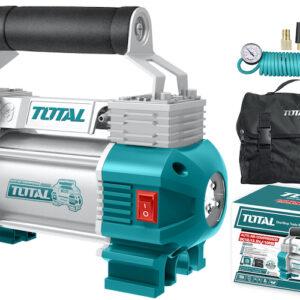 Compresor 12v 120psi doble piston TTAC2506 Total