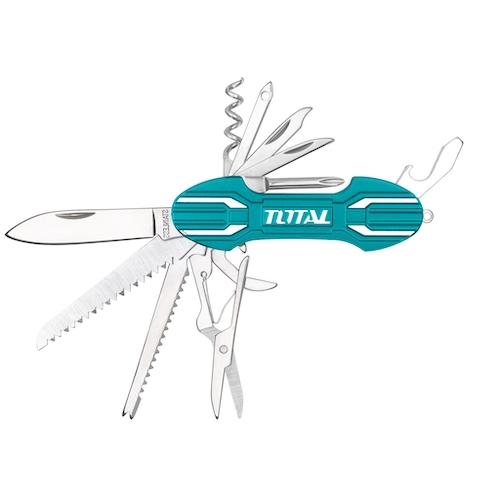 Navaja Multiuso 15 funciones ThMFK0156 Total