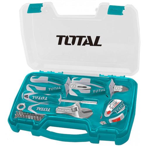 Juego herramientas 25 piezas THKTHP90256 Total