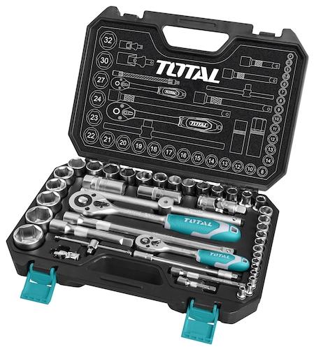 Juego herramientas 44 piezas THT421441 Total