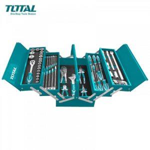 Juego herramientas 59 piezas THTCS12591 Total