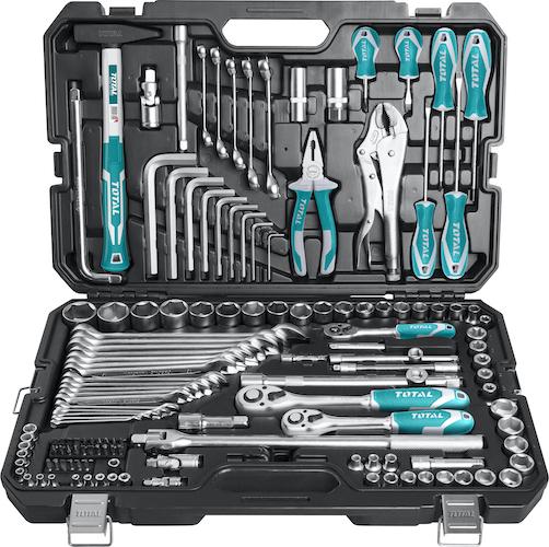 Juego herramientas 142 piezas THKTHP21426 Total