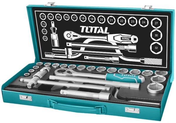 Caja de herramientas met ind 24pzs THT141253 Total