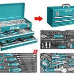 Caja herramientas 97pzas indust THPTCS70971 Total 1