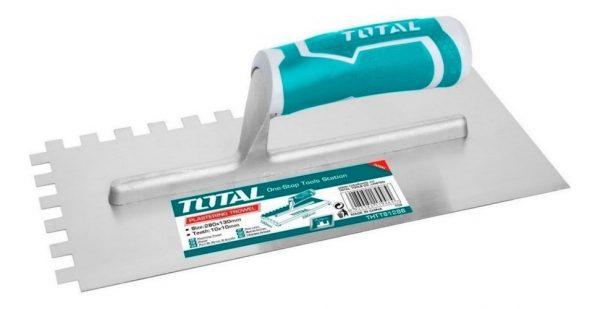 Llana dentada 280 x 130mm THT81286 Total