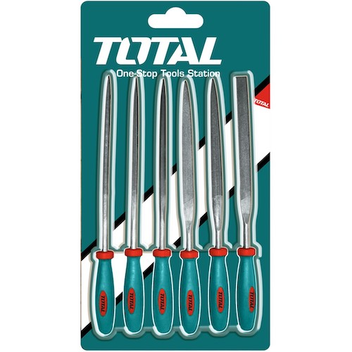 Set 6 mini limas cortas THT91462 Total