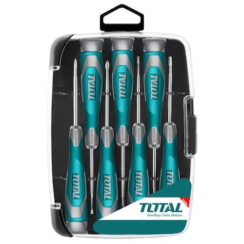 Set de 7 destornilladores precision ind THT250726