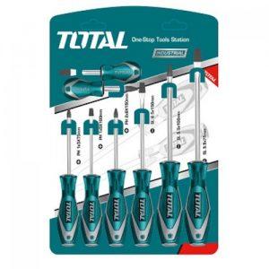 Set destornilladores x 8 4pl 4ph THT250608 Total