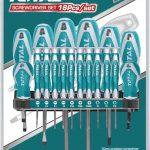 Set destornilladores indust x 18 THT250618 Total 1