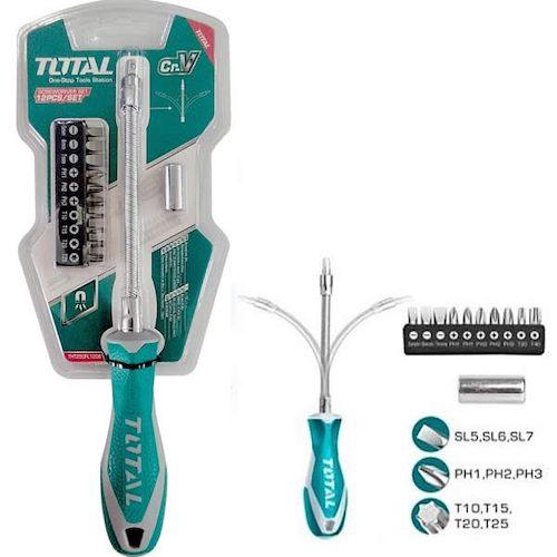 Destornillador flexible 12 ptas THT250FL1206 Total