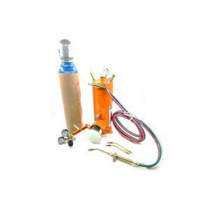 Soldador Microgasogeno y tubo 1m3 Alcarduplex
