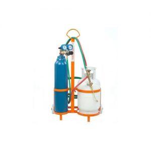 Equipo soldador 2 tubos (1m3/1.250kg) Alcarduplex