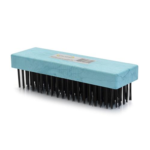 Cepillo acero base rec plastico 6x19 Calabro