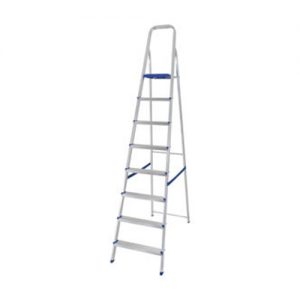 Escalera de aluminio 4 esc 0.13x0.42x1.30 Sao Leop
