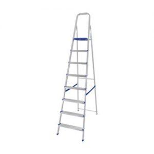 Escalera de aluminio 8 esc 0.128x0.51x2.07 Sao Leo