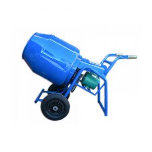Hormigonera reforz azul 155lts motor 1hp Mecanobra