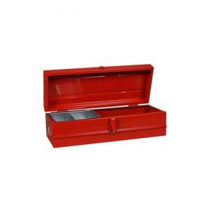 Caja metalica nº 2 con bandeja 390x150x120 Lara