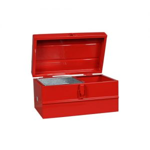 Caja metalica nº 3 con bandeja 300x180x160 Lara
