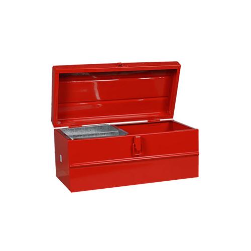Caja metalica nº 10 con bandeja 370x180x180 Lara