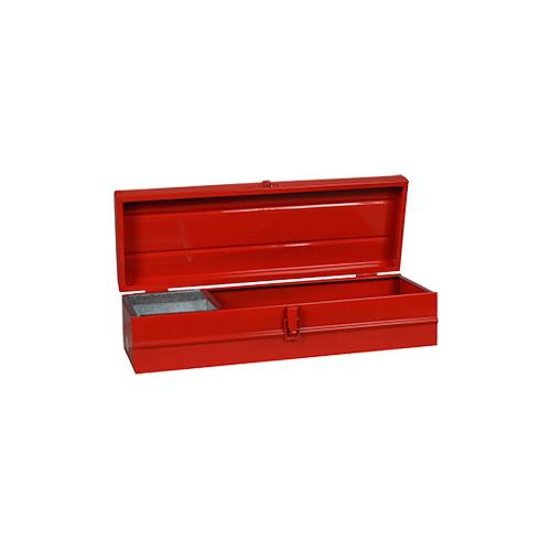 Caja metalica nº 16 con bandeja 500x170x130 Lara