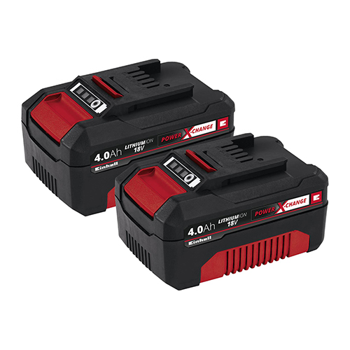 Batería Power Change 2 x 4,0 Ah Twin Pack EINHELL